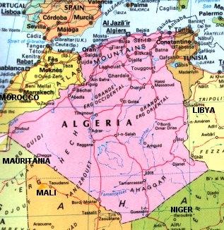 ALGERIA - CLIMA E PAESAGGI CLIMATICI - STRUTTURA ECONOMICA - STRUTTURA SOCIALE E QUALITÀ DELLA VITA