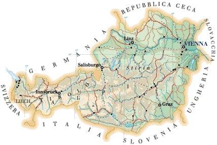 Austria - GEOGRAFIA, STORIA, ARTE