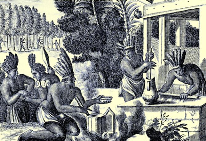 imagine cu aztechi