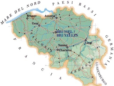 Belgio - GEOGRAFIA, STORIA