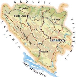 BOSNIA – ERZEGOVINA - CLIMA E PAESAGGI CLIMATICI