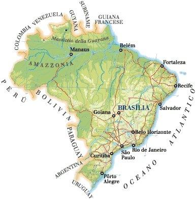 Il Brasile - Geografia