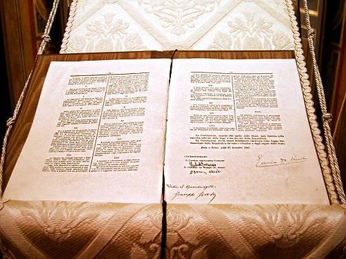 La Costituzione - Le caratteristiche della Costituzione Italiana - Organi Costituzionali