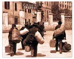 Migrazione - CAUSE ED EFFETTI DEL FENOMENO MIGRATORIO, I PERCORSI MIGRATORI, UN PROBLEMA ATTUALE, Emigrazione italiana