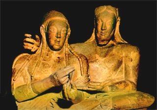 Perché gli Etruschi sono un popolo misterioso?, Il problema delle origini, Il paese degli Etruschi, La civiltà villanoviana e orientalizzante,