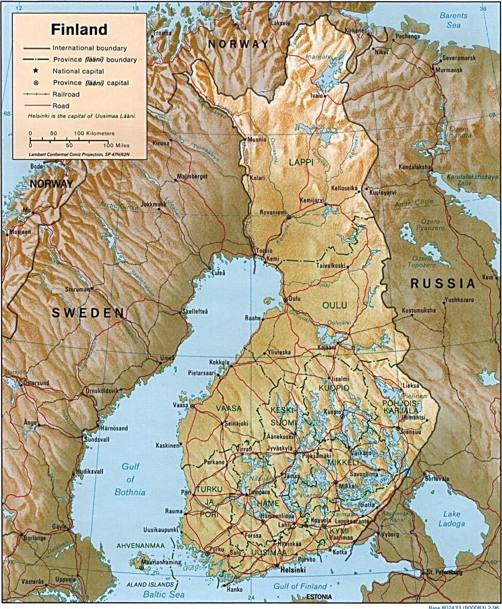 FINLANDIA Ordinamento dello stato