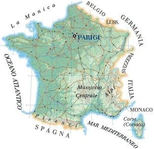 Francia - GEOGRAFIA, LINGUA E LETTERATURA