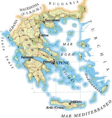 La Grecia e l'impero persiano, Le civiltà del Mediterraneo: minoica, micenea, i Fenici e il regno ebraico
