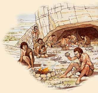 Il paleolitico - PERIODIZZAZIONE, LA VITA NEL PALEOLITICO