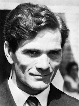 imagine cu paolo Pasolini