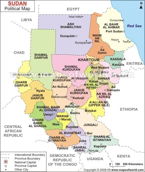 IL SUDAN - Inquadramento, ambiente e posizione geografica, Storia,cultura e società, Economia odierna, Problemi e prospettive