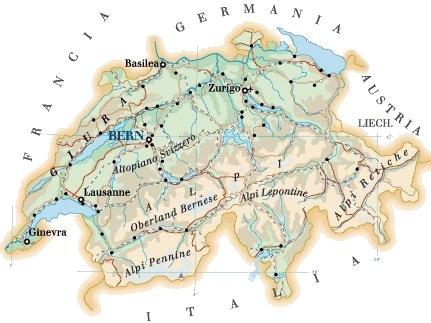 Svizzera - GEOGRAFIA, STORIA