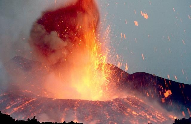 immagini vulcano